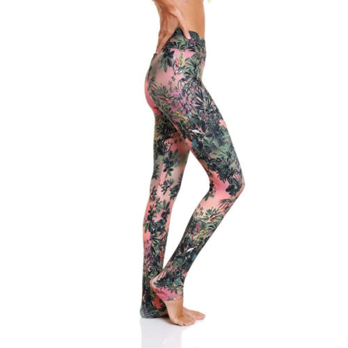 Liquido Benelux Extra Lang Eco Legging Magic Forest yogalegging sportlegging