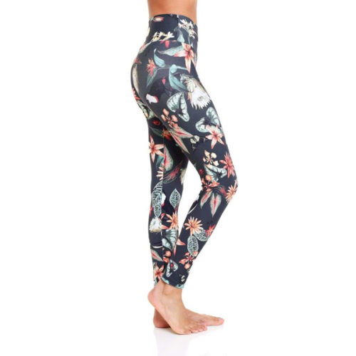 Liquido Benelux Omstars Om Eco Leggings Enchanted Flower Garden ygalegging sportlegging