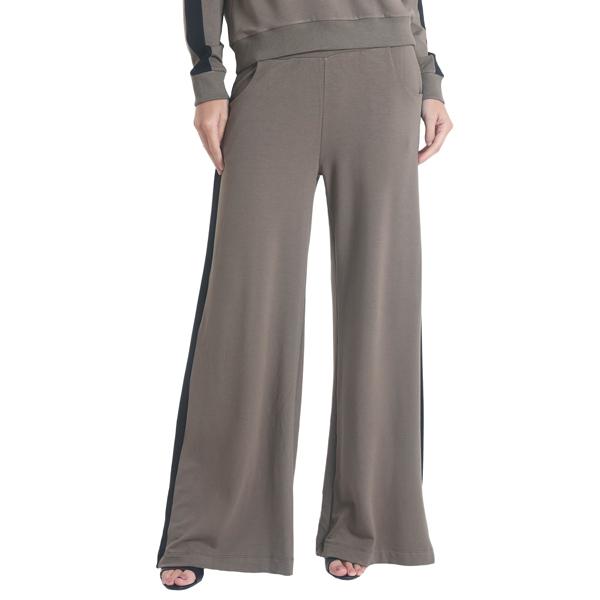 Liquido Benelux Pantalon Comfort Chic Olive wijde broek loungepants