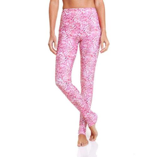 Liquido Benelux Yogakleding Yogalegging Sportkleding Pink Lily Pad Salutation Eco