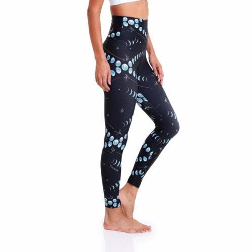 Liquido Benelux, Ultra High-Waist 7/8 Eco Leggings Moonlight, yogalegging, sportlegging
